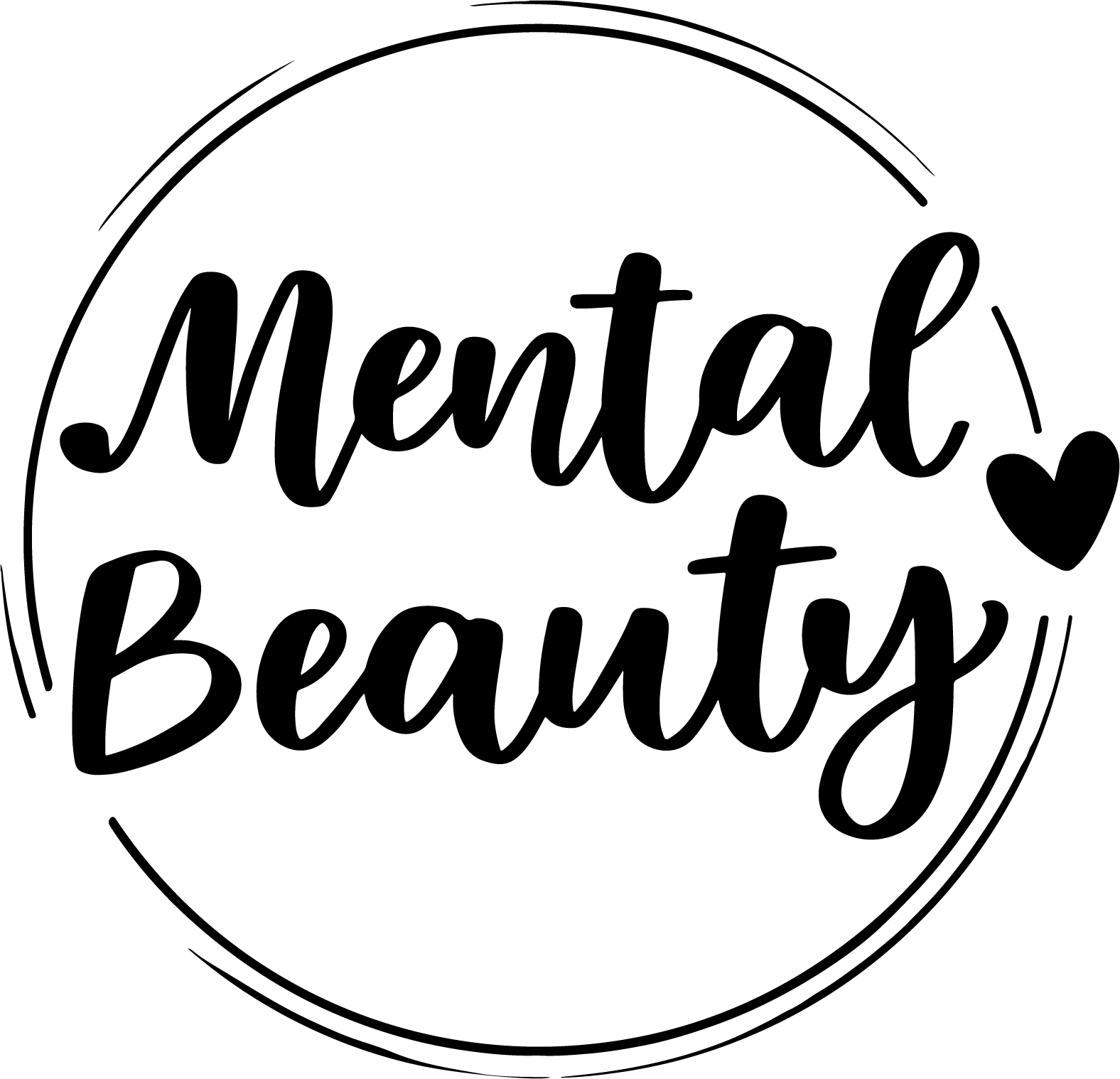 Mental Beauty Main Logo Black