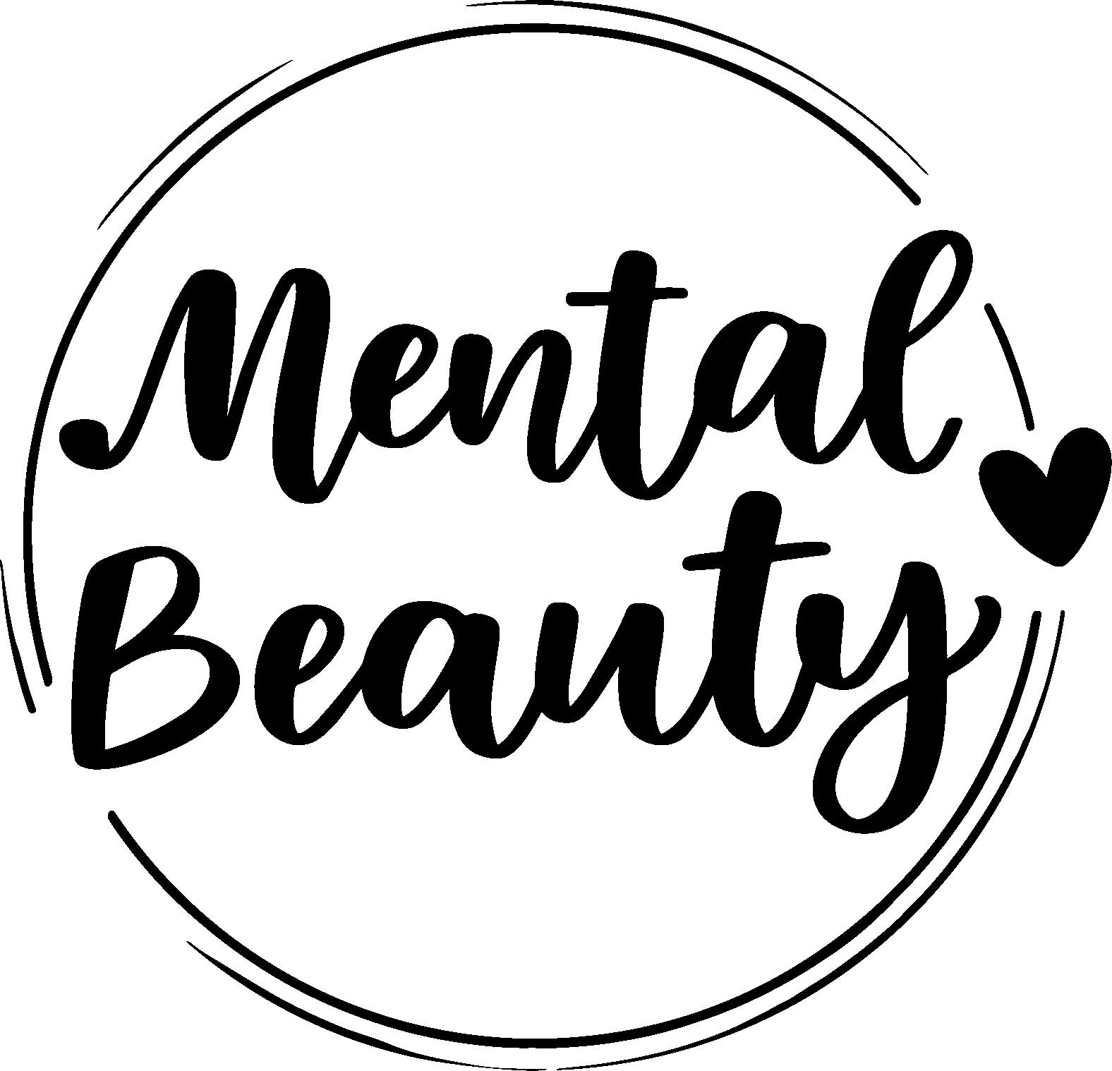 Mental Beauty Main Logo Black