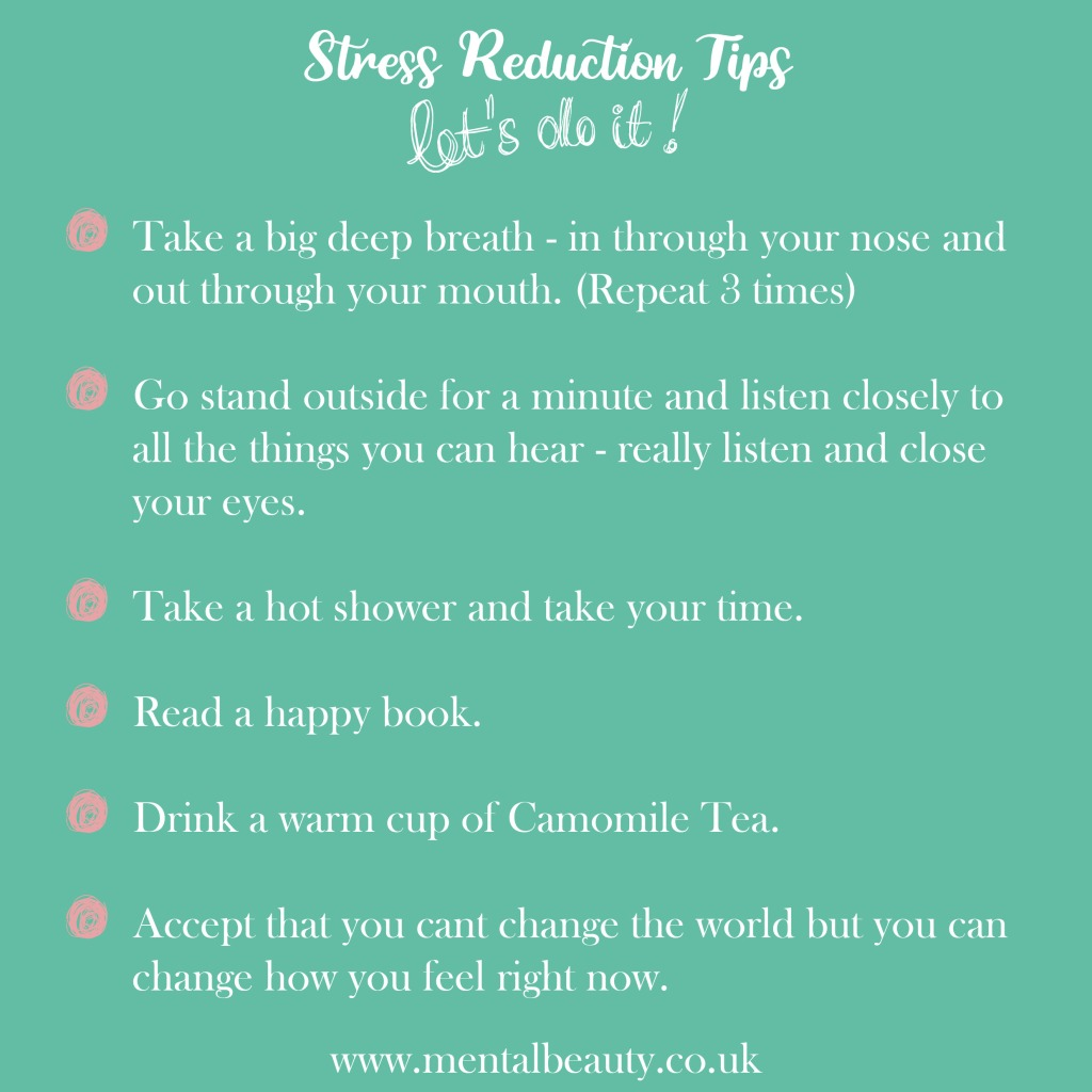 Stress Reduction Tips - Mental Beauty